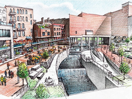 Welty Bowery Project Continues To Transform Plans For Block In Downtown Akron